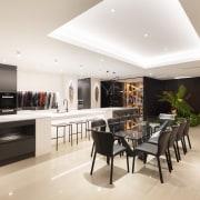 The main kitchen – Natural Super White Granite