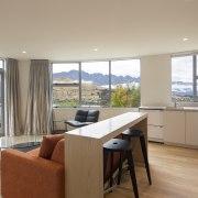 Most rooms take in the pristine alpine setting.