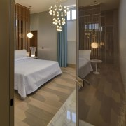 Another bedroom in the lavish interior, this time