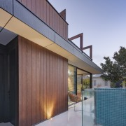 The new backyard retreat mixes the use of