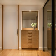 Every room has custom built-in cabinetry to utilise