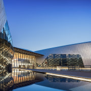 Part sculpture, part educational facility, the new National