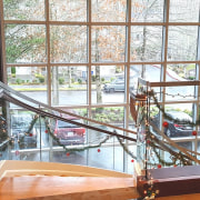 Aegis Living 04 - architecture | daylighting | architecture, daylighting, glass, handrail, room, window, wood, white