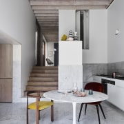 The home is quirky, infused with the unique