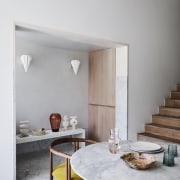 Kitchen, niche area/storage and stair – Zanotta Quaderna