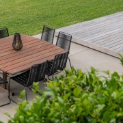 The new outdoor living areas now 'transition' towards
