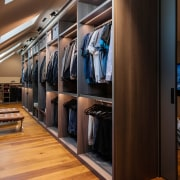 The new large walk-in wardrobe offers plenty of