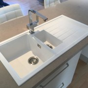 Sink: Artisan Kitchens AshburtonSee this sink on bathroom sink, countertop, plumbing fixture, sink, gray