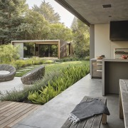 Together and slightly apart – the pavilions make