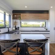 Clean, crisp work surfaces, plenty of natural light