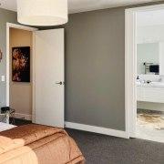 A double cavity door was introduced between bedroom