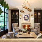 A warm, wide-plank oak floor flows throughout the