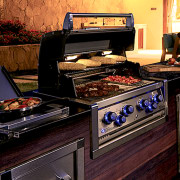 Inbuilt Broil King BBQ - home appliance | home appliance, kitchen, kitchen appliance, major appliance, black
