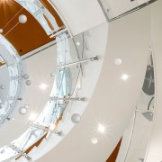 Colorado State University2 - architecture | ceiling | architecture, ceiling, circle, daylighting, stairs, white, white