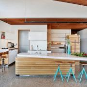 See more here countertop, cuisine classique, house, interior design, kitchen, real estate, gray, white
