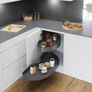 Cornerstone Maxx Corner Unit - countertop | kitchen countertop, kitchen, white
