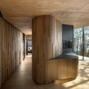 The interiors of the Pavilions are immersed in