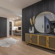 The interiors feature a mixture of materials and