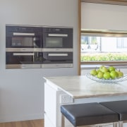 2018 TIDA New Zealand Designer Kitchen Highly Commended cabinetry, countertop, floor, home appliance, interior design, kitchen, gray