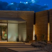 Dancing Light House Kendle Design Collaborative10 - architecture architecture, building, facade, home, house, landscape lighting, lighting, property, real estate, residential area, sky, brown, black