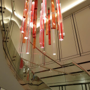 Doubletree Hilton 4 - architecture | ceiling | architecture, ceiling, design, light, lighting, brown