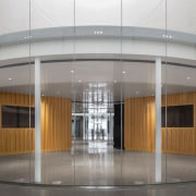 Dow Planetarium 3 - architecture | building | architecture, building, ceiling, door, facade, floor, flooring, glass, interior design, lobby, metal, photography, property, real estate, gray