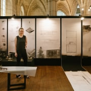 Emily Newmarch – Victoria University Of Wellington – art exhibition, exhibition, interior design, brown, black