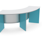 School furniture specialist Furnware designed this Endeavour flexible angle, desk, furniture, product, table