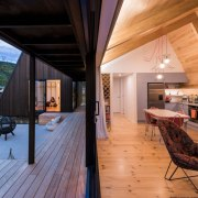 WINNER: The Family Bach - architecture | daylighting architecture, daylighting, deck, estate, hardwood, home, house, interior design, real estate, roof, wood, orange