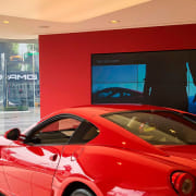 Ferrari Showroom 2 - automotive design | car automotive design, car, coupé, ferrari 599 gtb fiorano, land vehicle, luxury vehicle, performance car, red, sports car, supercar, vehicle, red