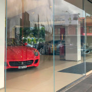 Ferrari Showroom 6 - automotive design | automotive automotive design, automotive exterior, building, car, car dealership, executive car, glass, luxury vehicle, real estate, supercar, vehicle, gray
