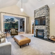 The home's formal living room. - Touching the