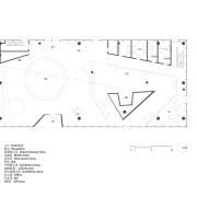 GF Layout Plan 首层平面 - design | diagram design, diagram, drawing, floor plan, font, line, parallel, rectangle, technical drawing, text, white