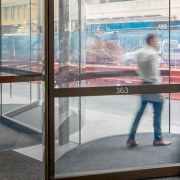 George Place 02 - architecture | display case architecture, display case, display window, door, glass, interior design, metal, reflection, room, transparent material, window, window film, gray