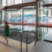 George Place 05 - architecture | building | architecture, building, daylighting, glass, interior design, leisure, leisure centre, metal, room, transparent material, window, gray