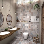 ​​​​​​​See more tile options from the Tile bathroom, ceiling, ceramic, home, interior design, room, tile, wall, window, gray