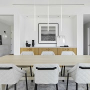 The penthouse features a curated selection of natural,