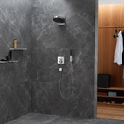 Hansgrohe Rainfinity – supreme water savings  black, gray