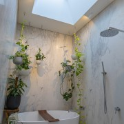 Showered in light, bathed in luxury – a