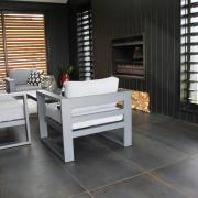 The Ferrocemento, Italian porcelain floor tiles in the