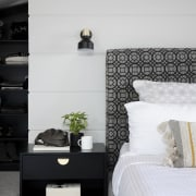A pleasing mix of black, white and greys