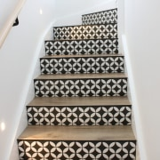 Heavenly stairway! The staircase features Neptune Max Natural