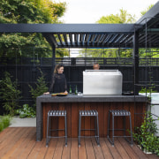 The choice of operable shutetrs means the outdoor