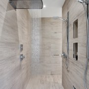 Inner Sanctuary architecture, floor, flooring, interior design, laminate flooring, tile, wall, wood, wood flooring, gray
