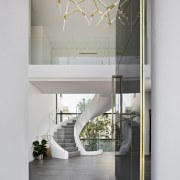Entranceway – contemporary new home by Urbane Projects architecture, home, house, interior design, gray