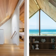 The home makes the most of natural finishes,