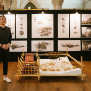 Jintao Yang – University Of Auckland – finalist art exhibition, collection, design, exhibition, furniture, interior design, brown, black, white