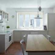 The reworked heart-of-the-house kitchen. - Forest echo -