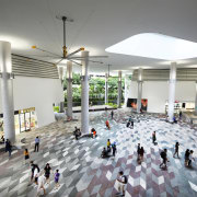 Kampung Admiralty 6 - lobby | mixed use lobby, mixed use, shopping mall, gray, white