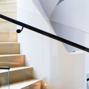Killara 02 - architecture | baluster | glass architecture, baluster, glass, handrail, interior design, iron, line, material property, metal, real estate, room, stairs, white